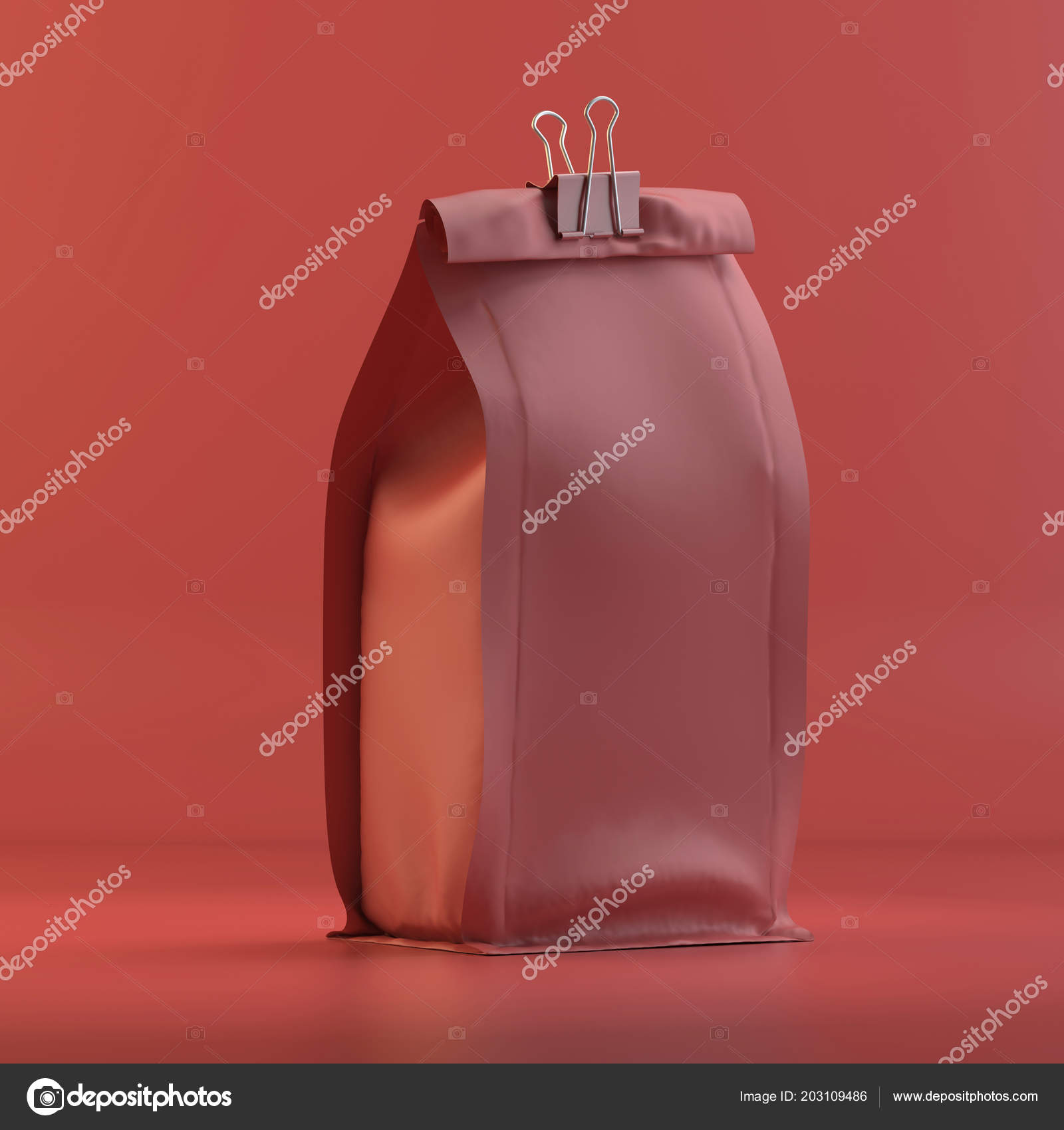 Rendering Packing Coffee Design Mockup All Objects