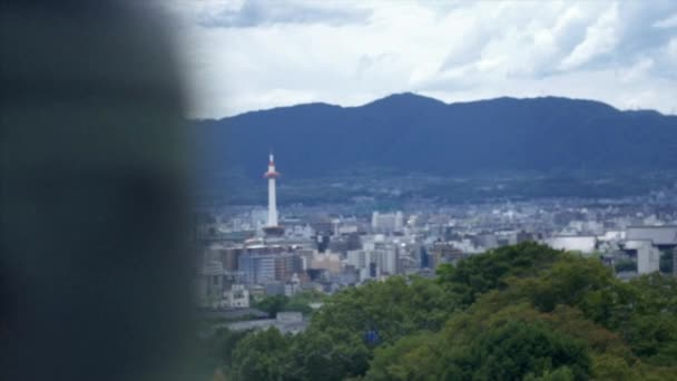 aerial view of Kyoto city from kiyomizu temple