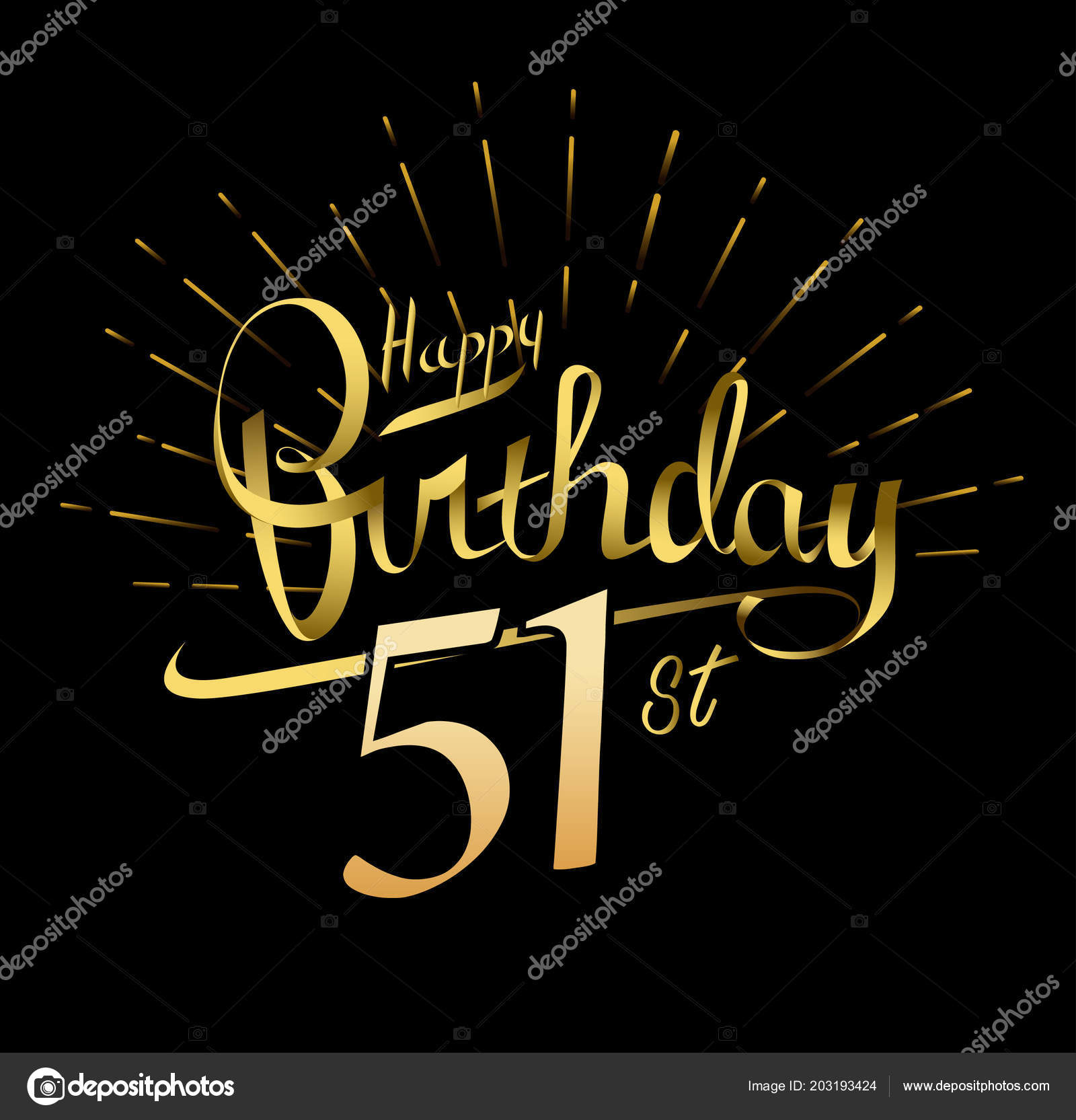Anniversario Anni Logo Buon Compleanno Sfondo Decorativo