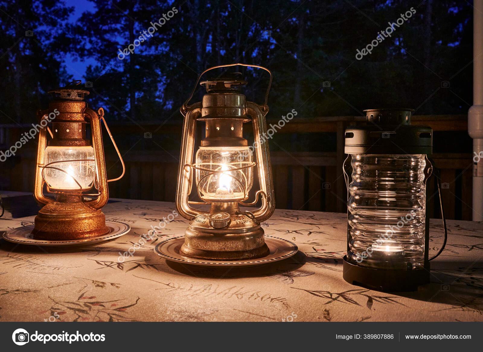 24cm cl/ásico de la Vendimia Queroseno l/ámpara de keroseno Linterna l/ámpara de Aceite Luces de Camping al Aire Libre port/átiles DEWIN Vintage Queroseno Linterna