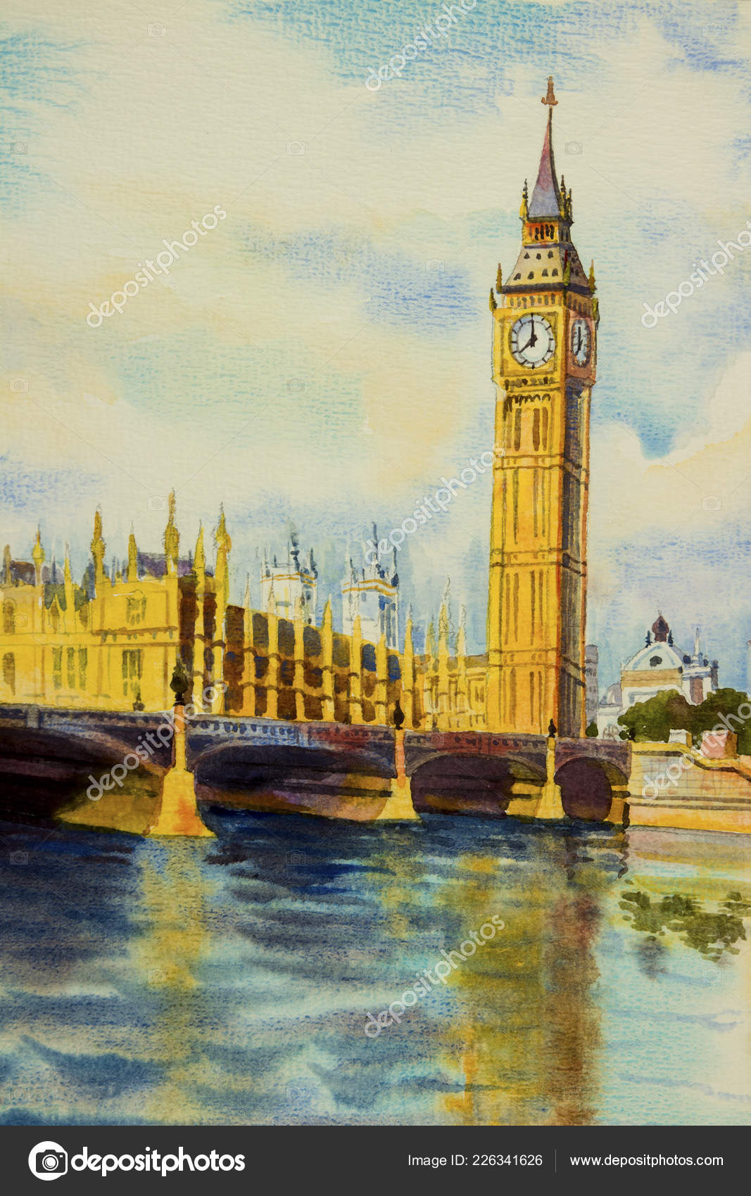 London Big Ben Painting