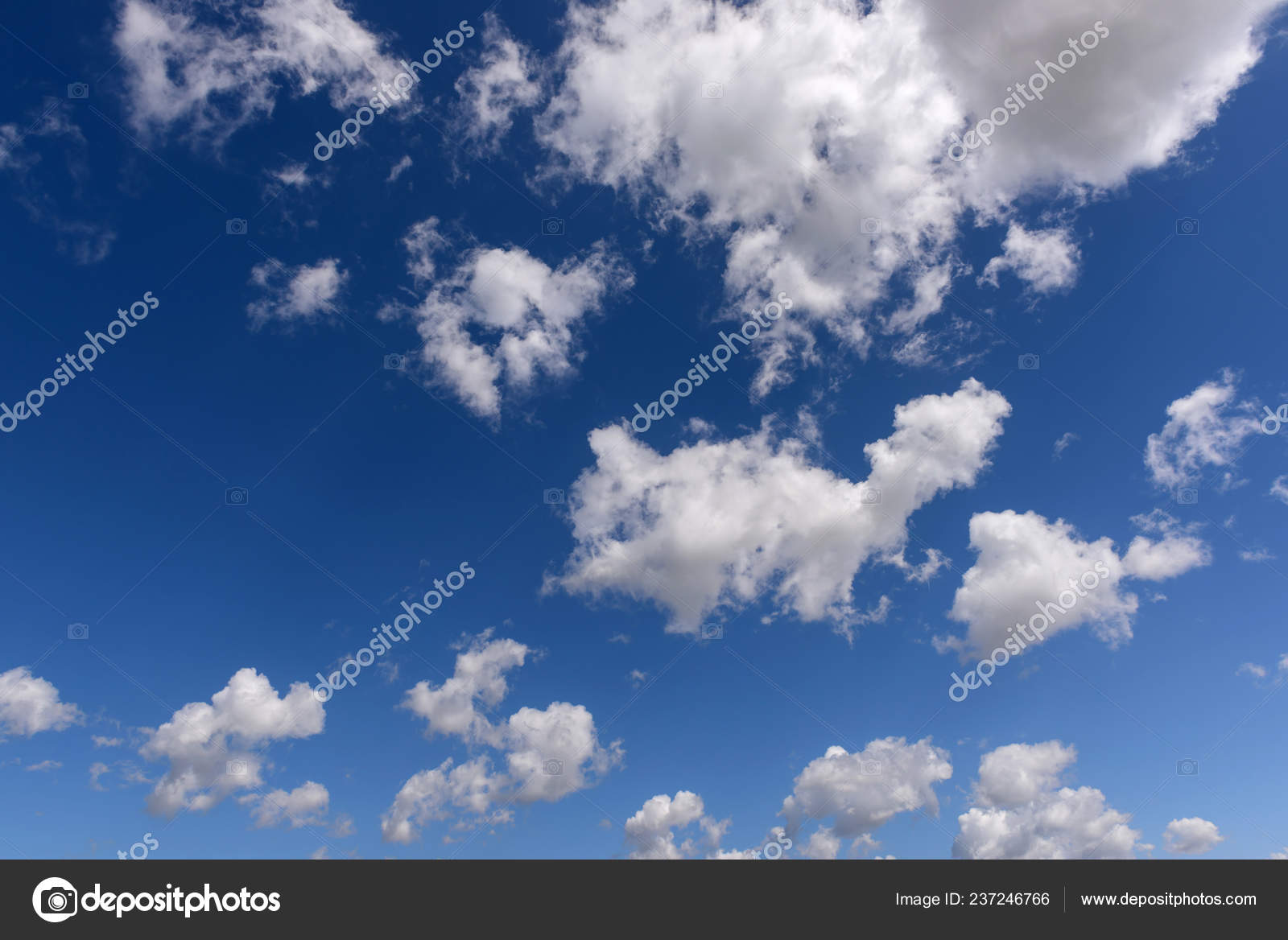 Beautiful White Clouds Blue Sky Color Shade Gradient White Blue Stock Photo C Ikurucan 237246766