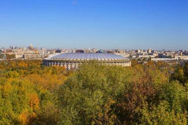 Moscow, Russia, 10/11/2018, Luzhniki Sports Complex.