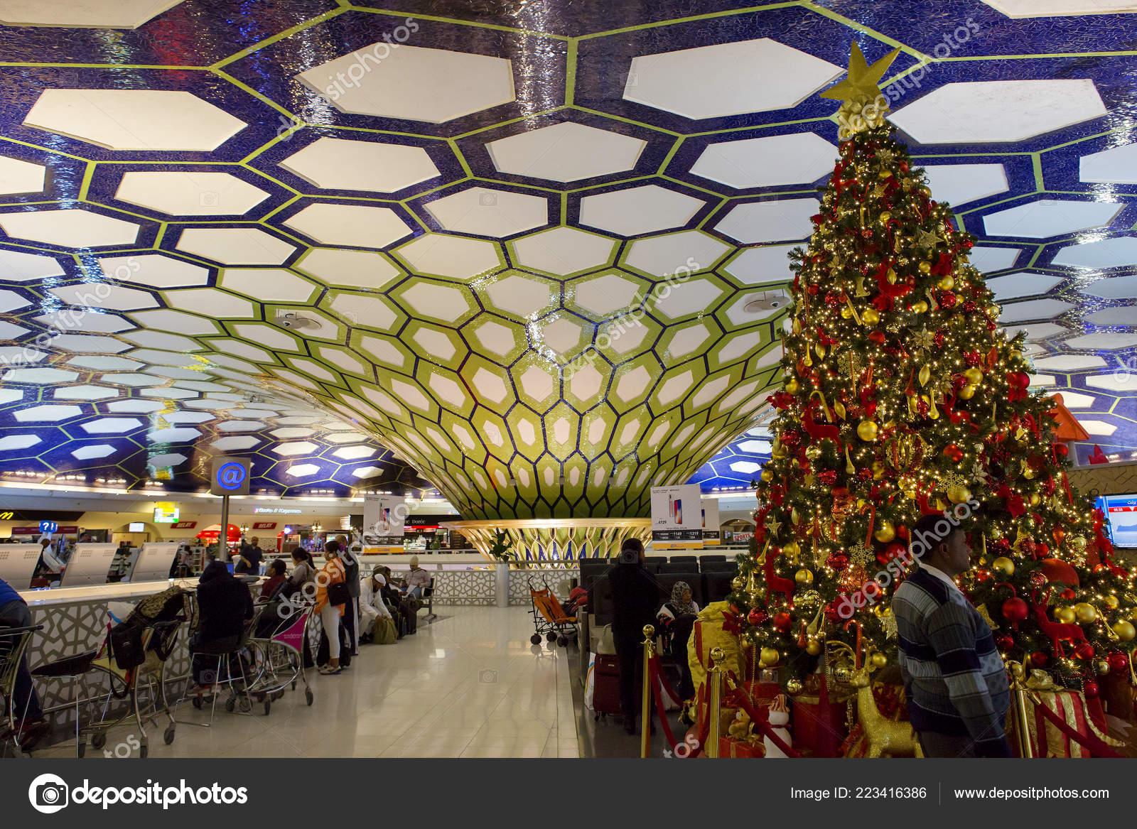 Abu Dhabi Flughafen Abflug