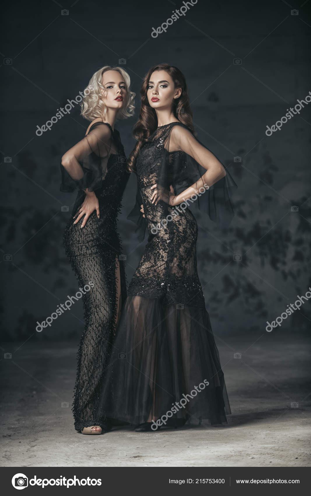 Fotos de mujeres con vestidos de noche