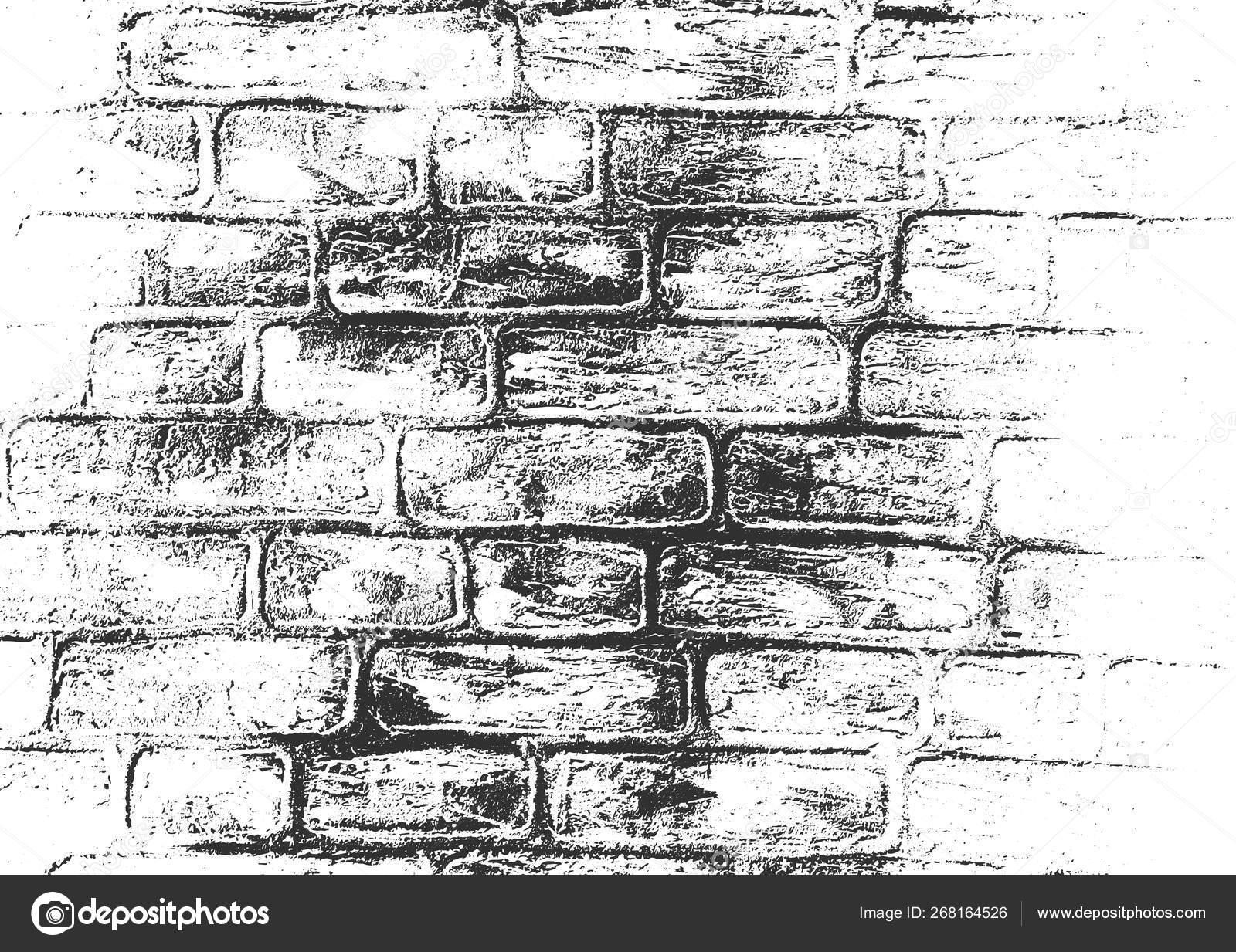 кирпичная стена рисунок карандашом цветная лаваша