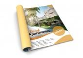 Fotografie isolated magazine real estate advertising 3d rendering