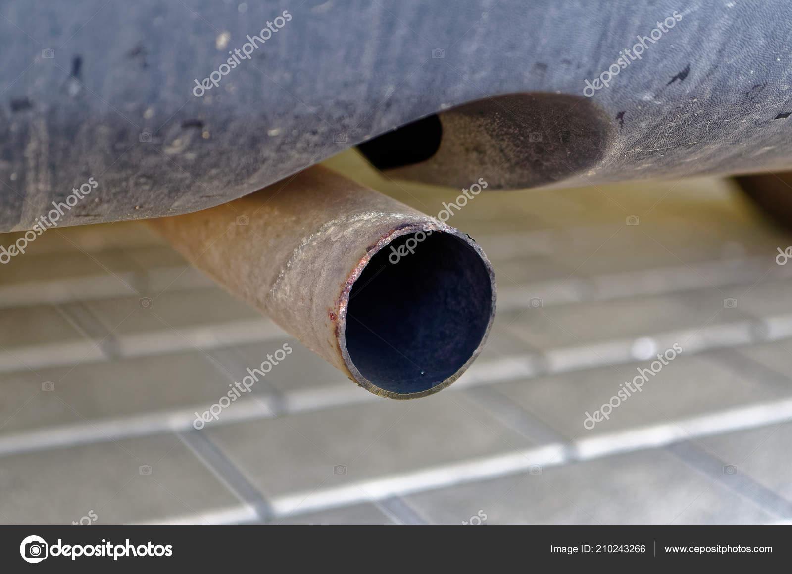 Exhaust Diesel Car Illustrate Diesel Exhaust Carbon Dioxide