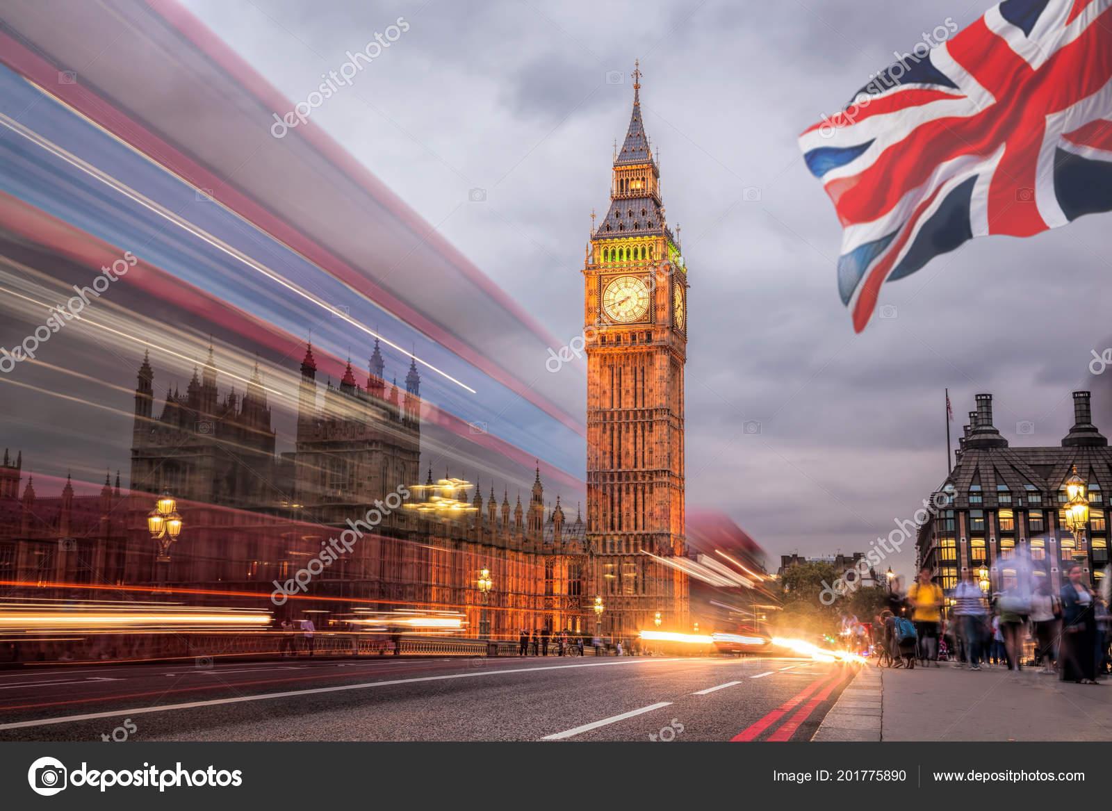 Big Ben House Parliament Night London Stock Photo C Samot 201775890