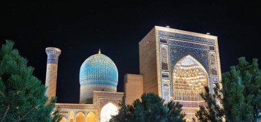 Gur-e-Amir Mausoleum in Central Samarkand, Uzbekistan along the old Silk Road