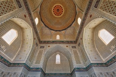 Bibi-Khanym Mosque from the old Silk Road in Samarkand, Uzbekistan
