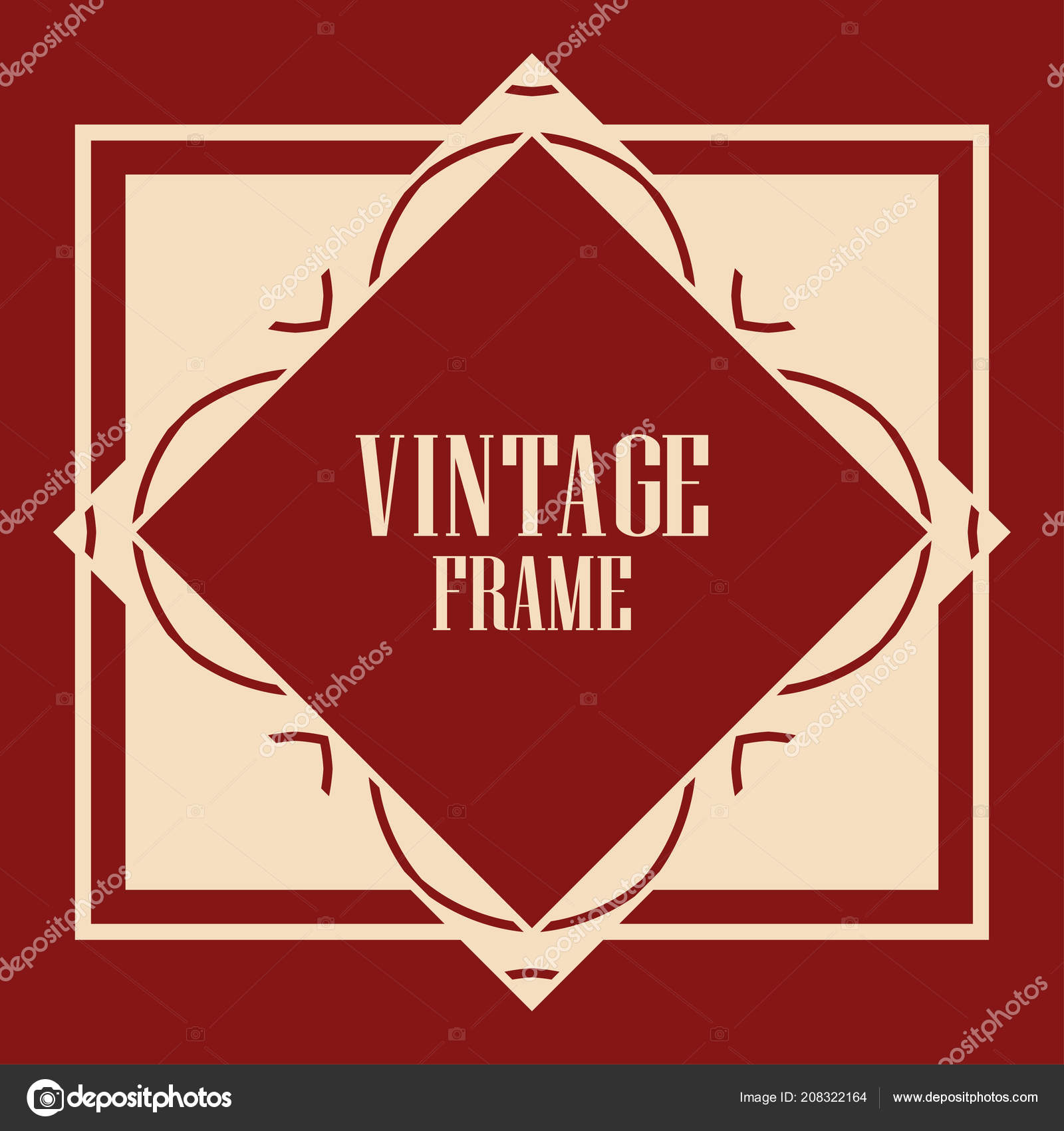 Art Deco Frame — Stock Vector © Paykvector #208322164