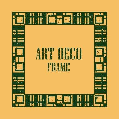 Art Deco Vintage Frame
