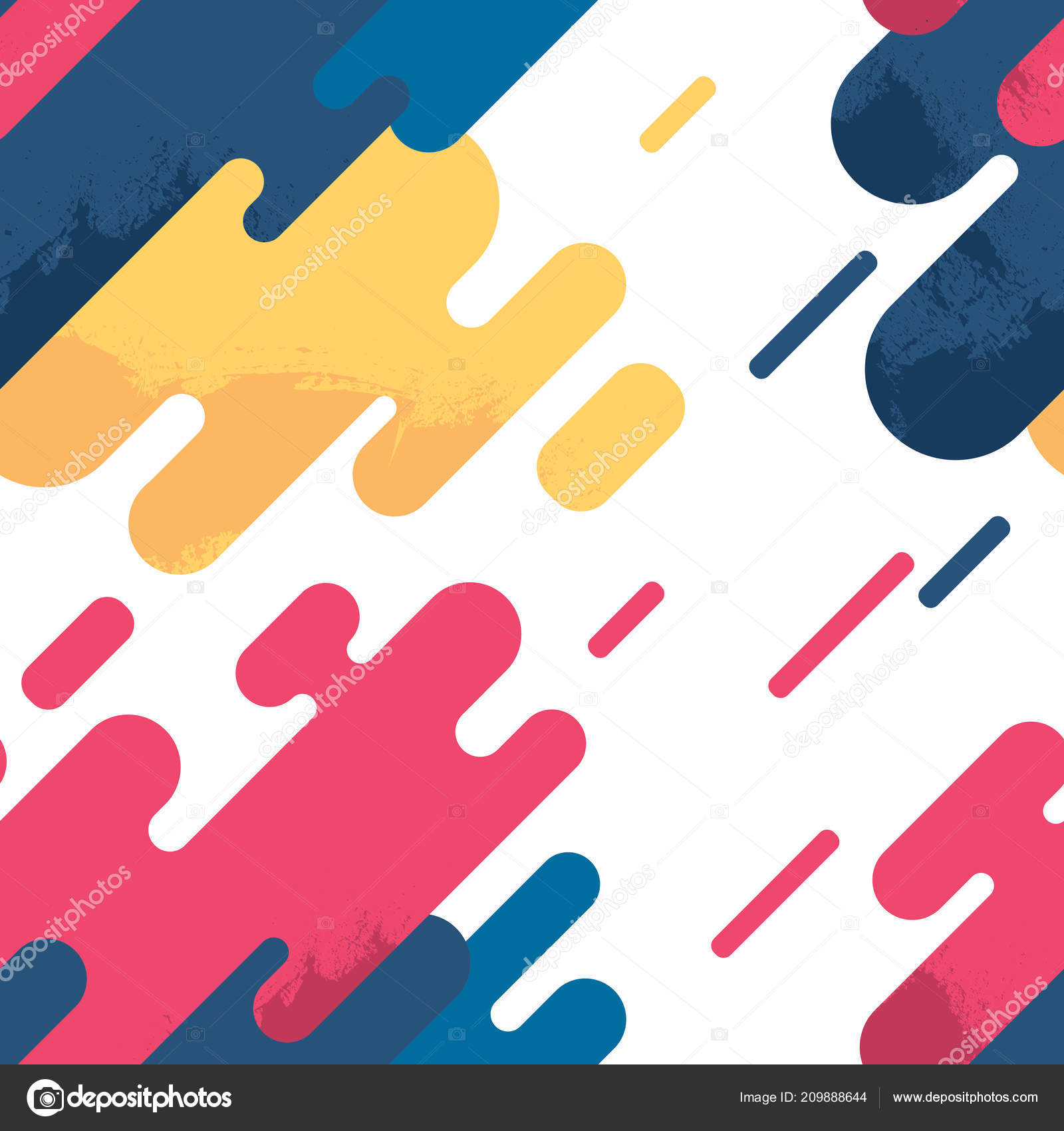 Abstract Shape Design Vector Ilustration Hipster Style