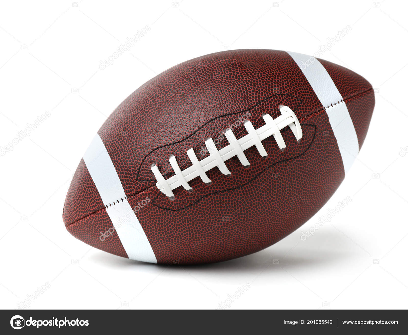 Leather American Football Ball White Background Stock Photo C Liudmilachernetska Gmail Com 201085542
