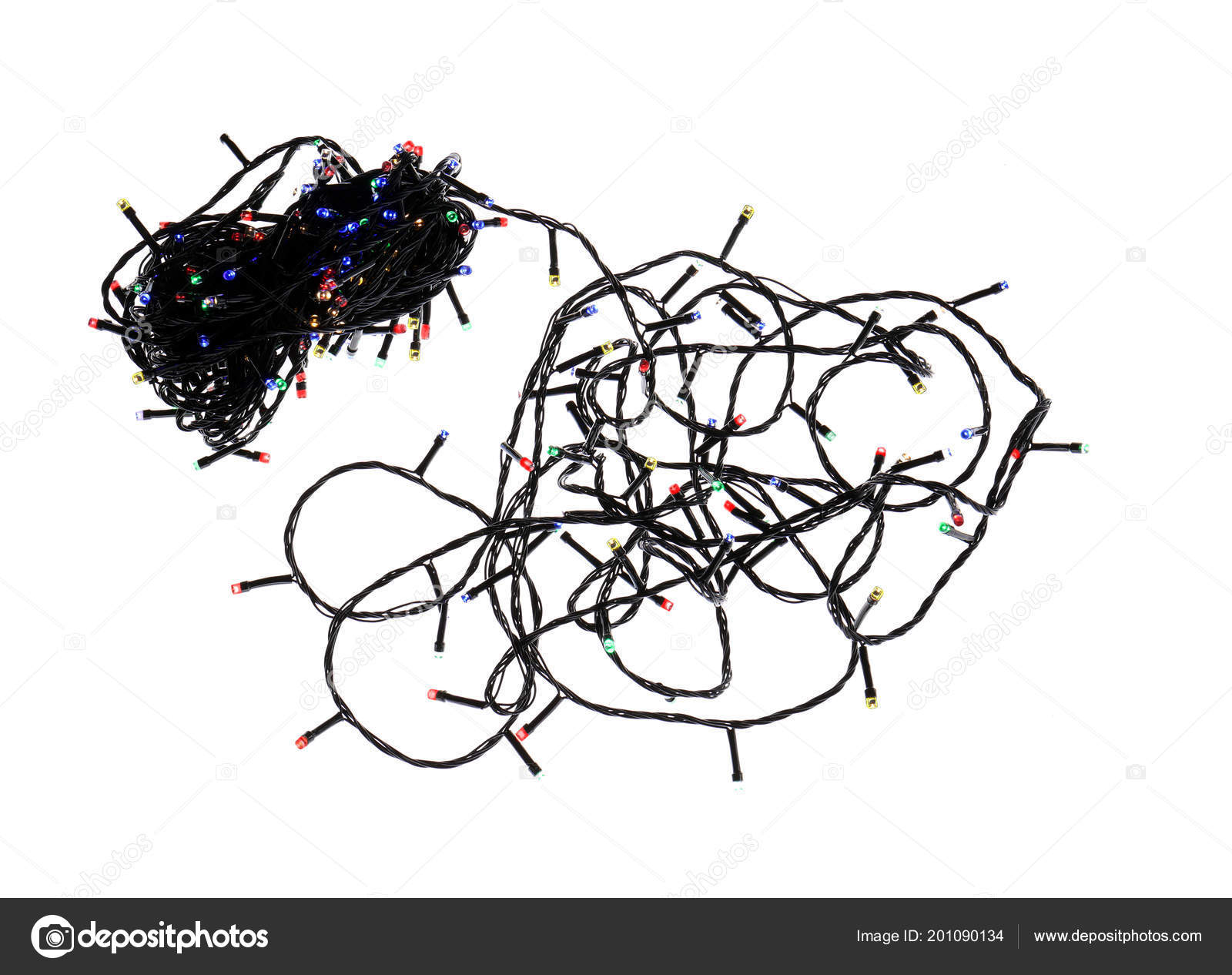 New String Christmas Lights White Background Stock Photo Wiring Diagram Of X Mas