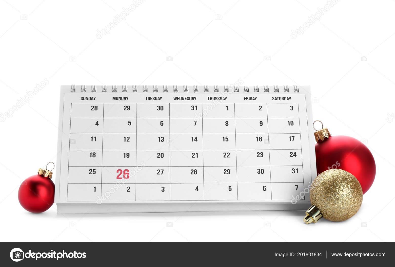 Calendario Conto Alla Rovescia.Calendario Carta Decorazioni Fondo Bianco Conto Alla