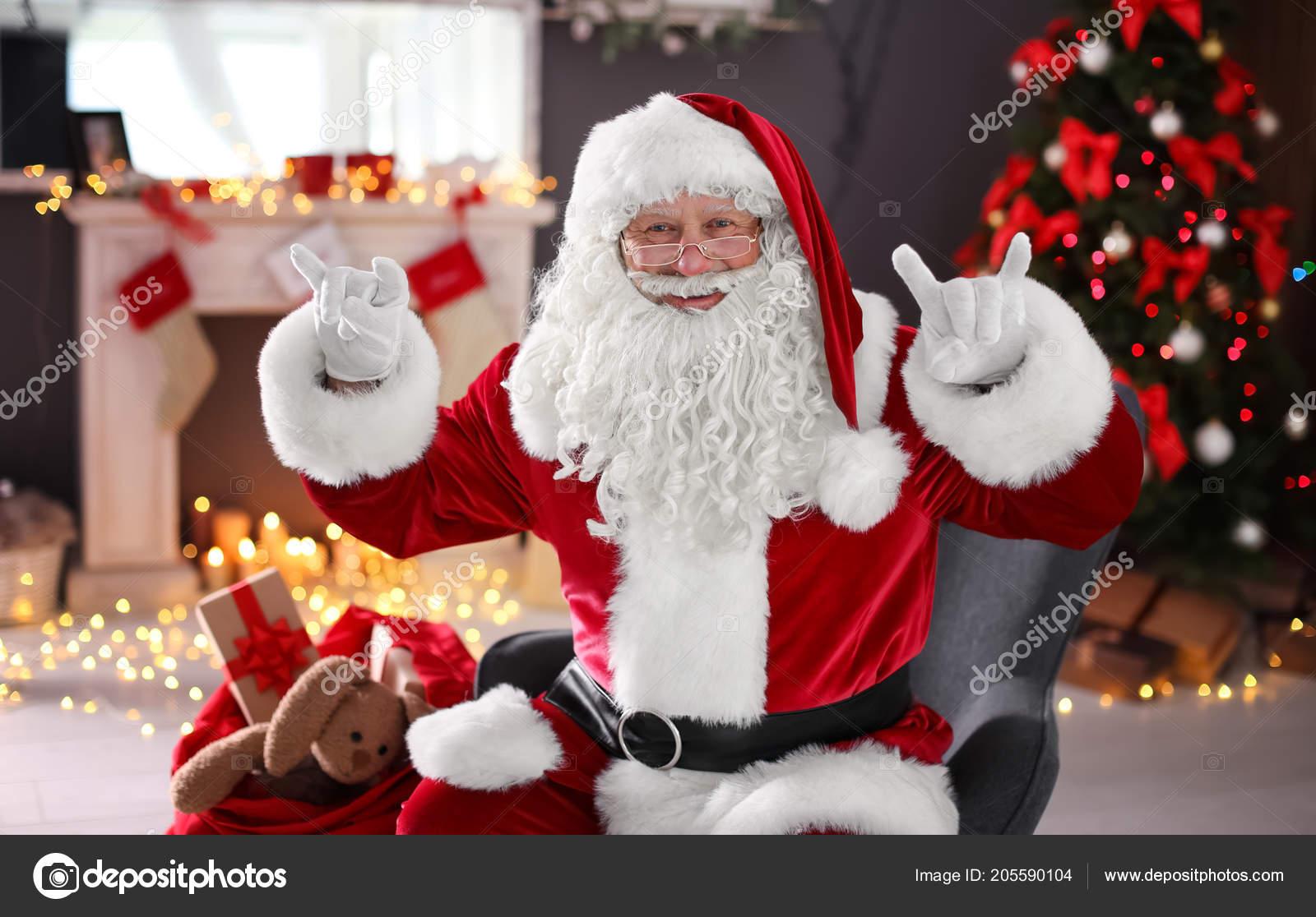 Babbo Natale Immagini Divertenti.Babbo Natale Autentico Risultati Divertenti Gesti Chiuso Foto