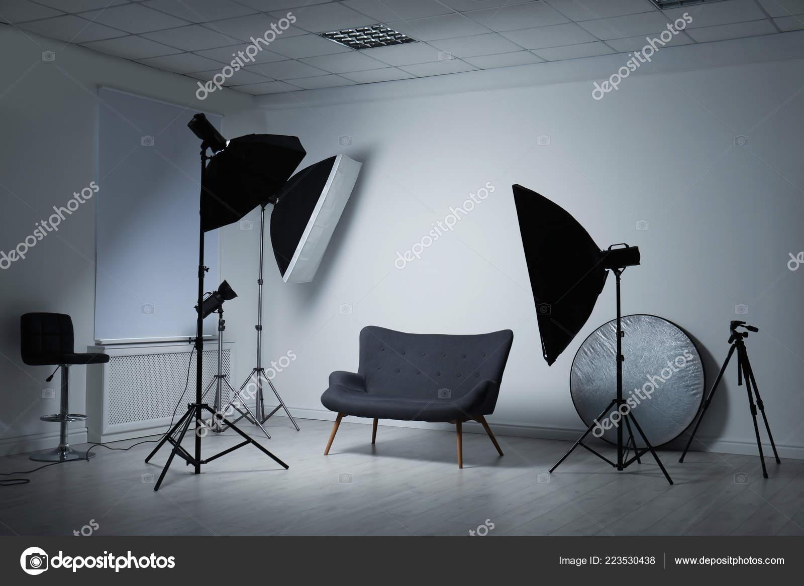 modern photo studio professional lighting equipment stock photo image by c newafrica 223530438