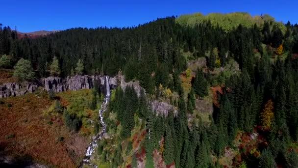 Légifotó-hegység erdők