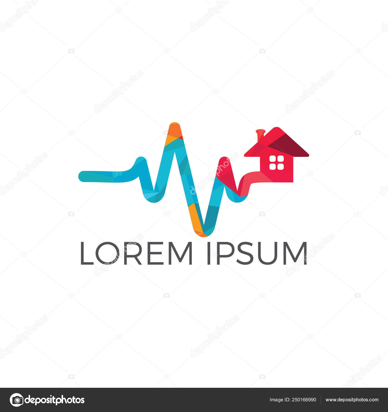 Strange Home Care Pulse Heart Logo Vector Health Home Logo Designs Download Free Architecture Designs Scobabritishbridgeorg
