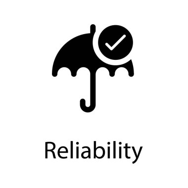 Verified insurance vector in solid design