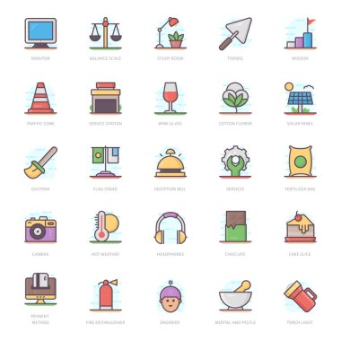 We are presenting agriculture flat icons pack for your design project. Editable vectors are easy to use for your design needs. icon