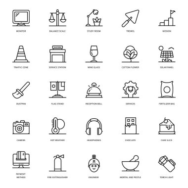 We are presenting agriculture line icons pack for your design project. Editable vectors are easy to use for your design needs. icon