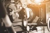 Részletes képet professzionális digitális videó kamera berendezések