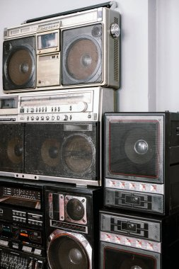image of Retro radio background