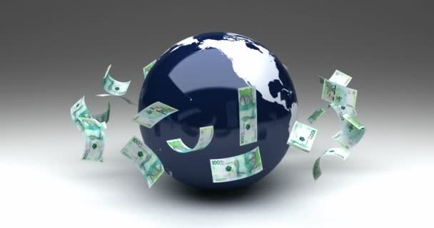 Global Business with Colombian Pesos (seamless)
