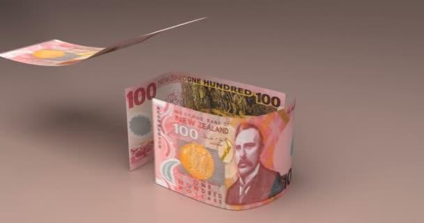 Immobilien-Animation mit Neuseeland-Dollar