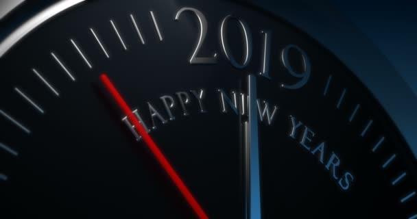 Odpočítávání do nového roku 2019