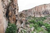 Photo beautiful landscape in goreme national park, cappadocia, turkey