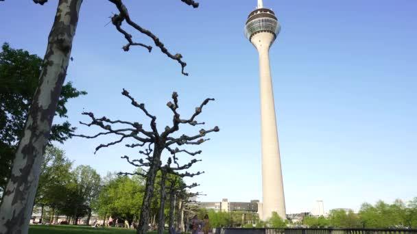 rheinturm rheinturm, Düsseldorf, deutschland