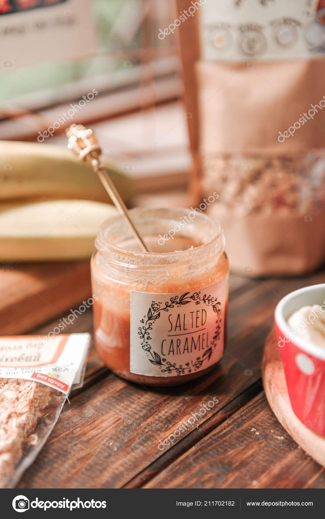 salt caramel glass
