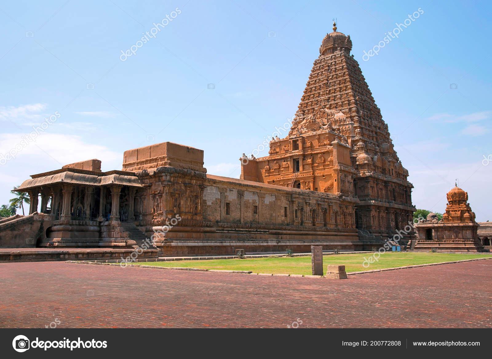 Temple Brihadisvara Chandikesvara Temple Tanjore Tamil Nadu Inde Vue