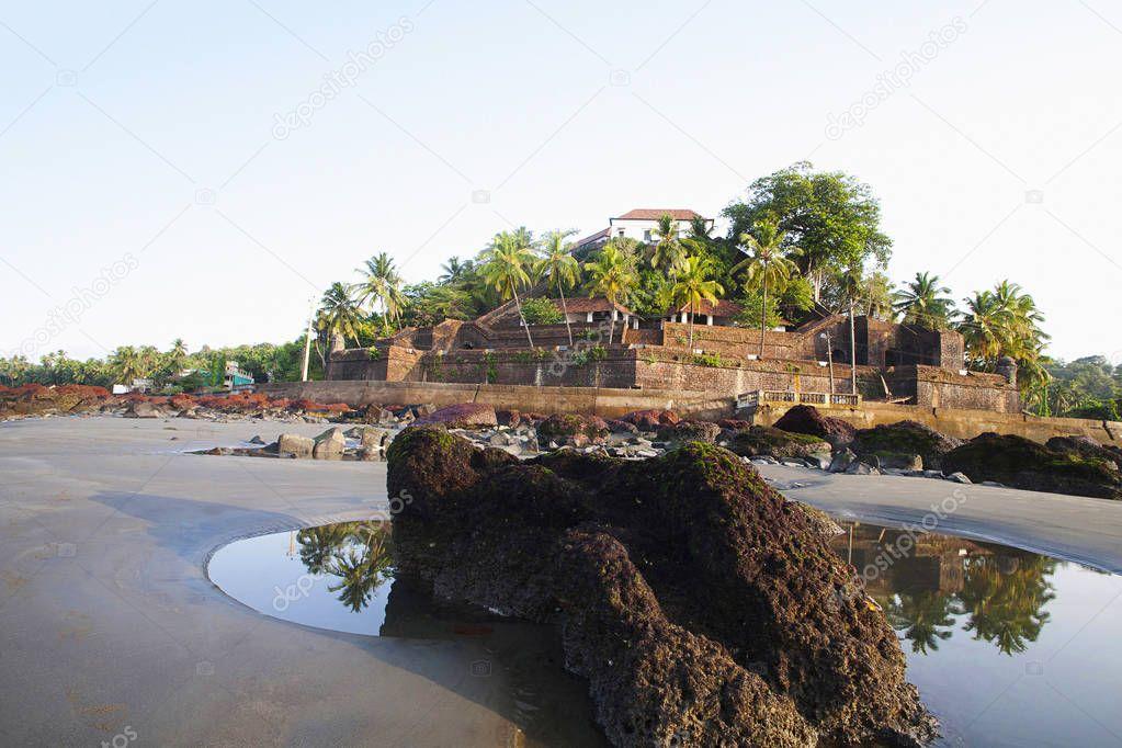 Reis Magos Fort, Bardez, North Goa of India