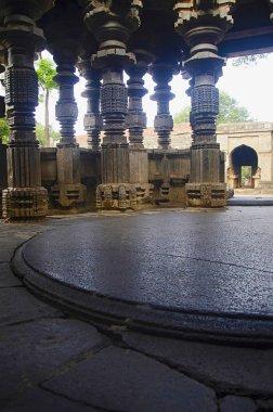 Carved pillars, Kopeshwar Temple, Khidrapur, Maharashtra india