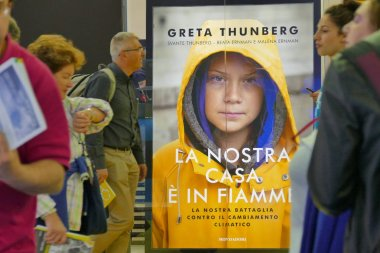 Swedish climate activist Greta Thunberg publish in Italy the book (translated as)