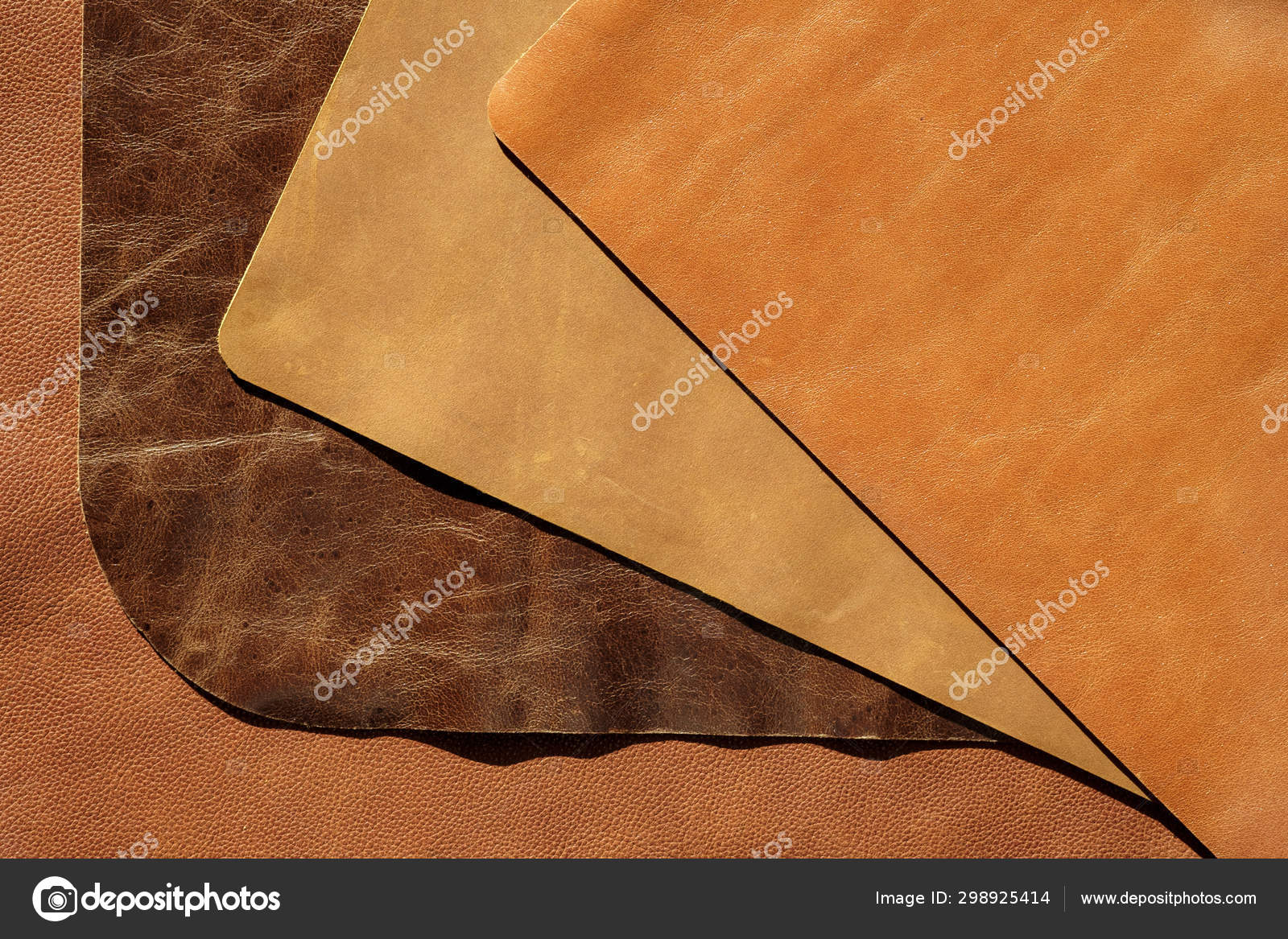 color sky Genuine leather skin