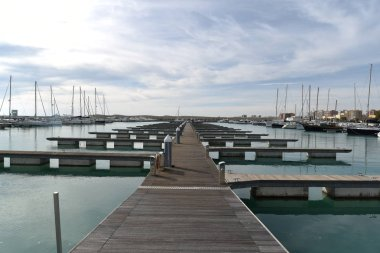 Port by Morning with boats