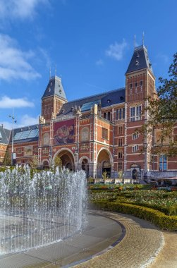 The Rijksmuseum (Imperial Museum) is a Dutch national museum dedicated to arts and history in Amsterdam.