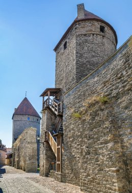 Walls of Tallinn, Estonia