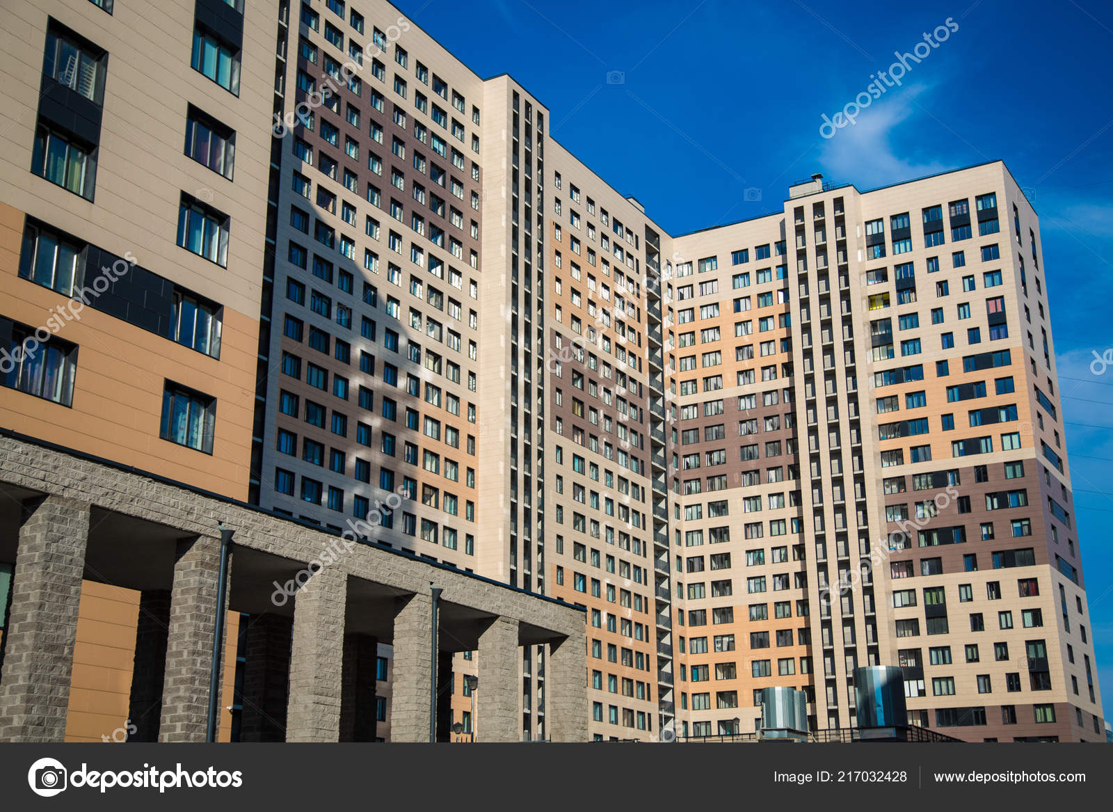 Petersburg Russia View New Buildings New Apartments — Stock