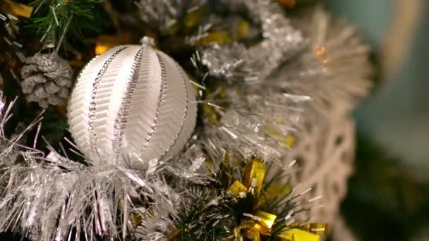 Nahaufnahme der Weihnachtsdekoration zu Hause