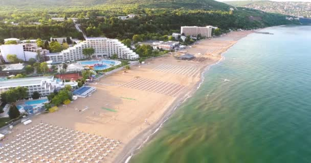 Aerial View of Albena touristic resort, Bulgaria
