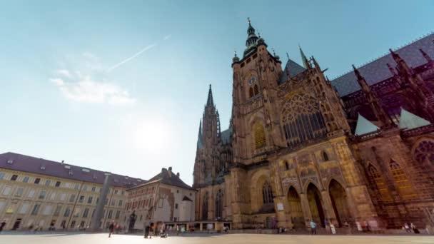 Pražský hrad / Time Lapse videa 4k