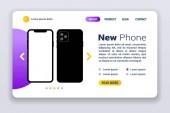 Nový web Iphone11. Smartphone maká na prázdné obrazovce bez rámečku