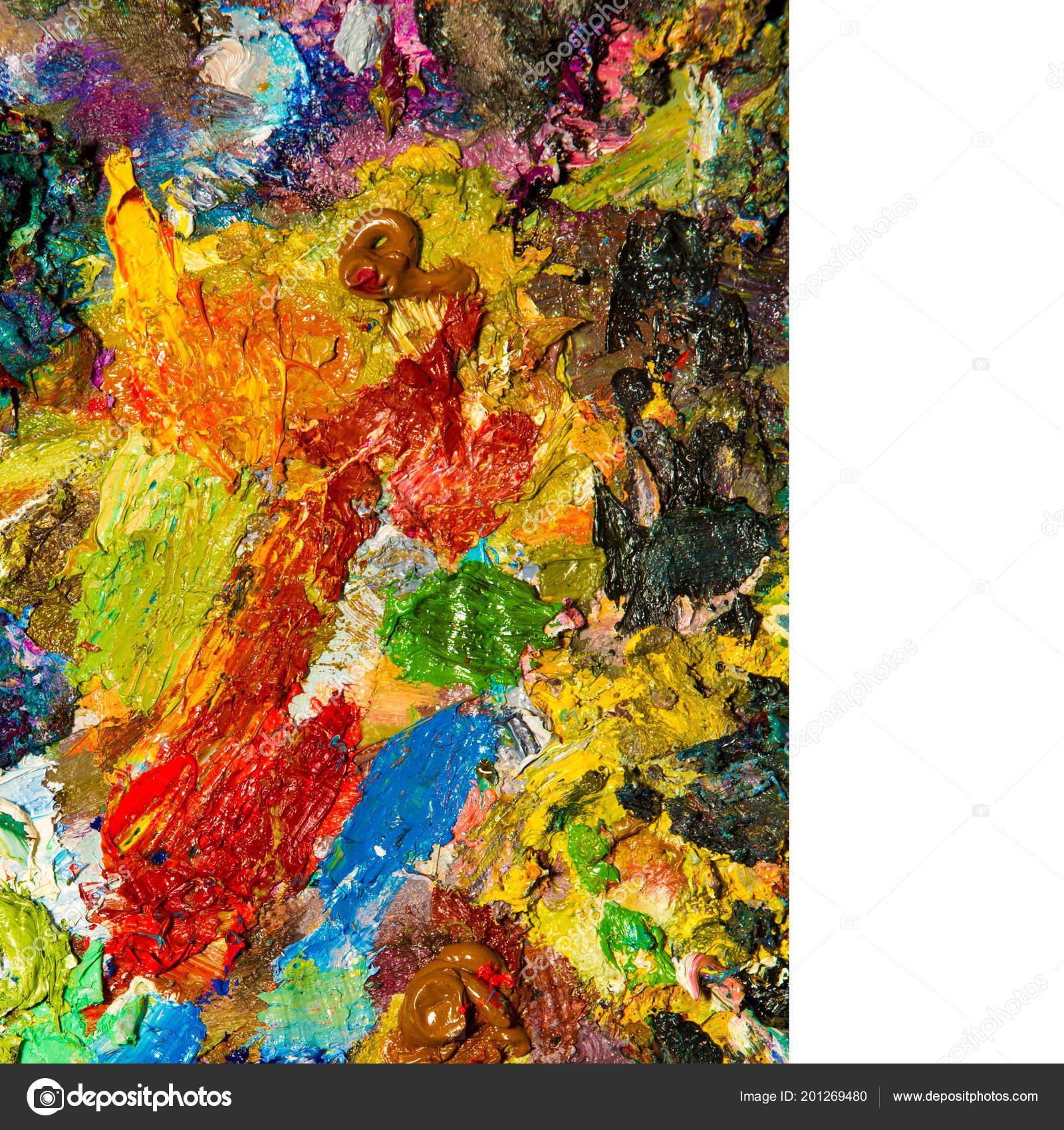 Maler Palette Der Künstler Farbpalette Stockfoto Ekina1 201269480